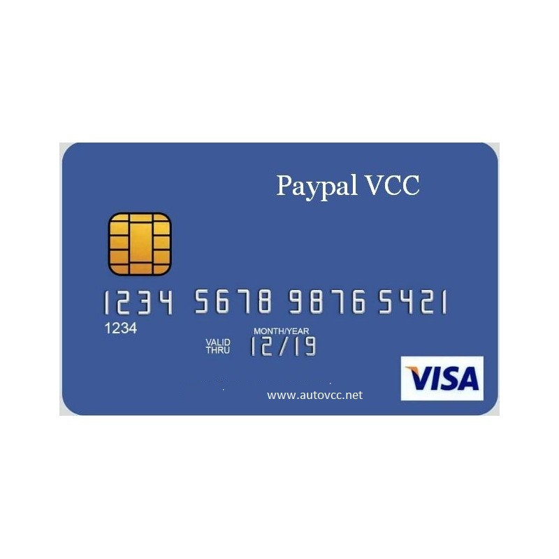 Paypal VCC