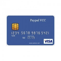 PAYPAL VCC ( 1 year )