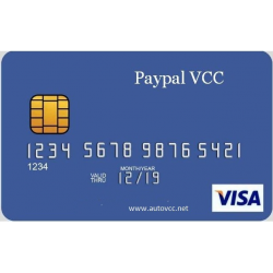 Paypal VCC ( 7 Months )
